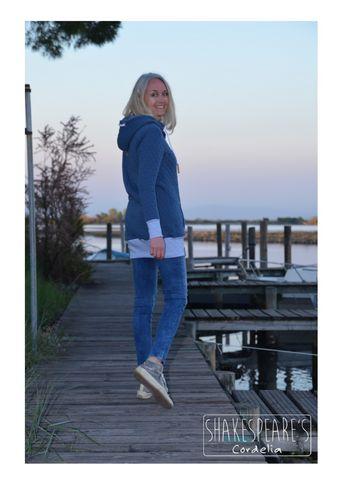 Hoodie blauer Steppsweat4