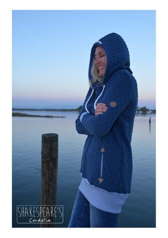 Hoodie blauer Steppsweat6